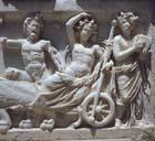 Triumph of Dionysus, 2nd century relief sculpture, Perge, Turkey