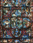 Last judgement, thirteenth century, Bourges Cathedral, Bourges, France