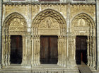 Chartres Cathedral, Royal Portal, 1145-55