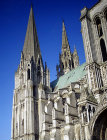 South spire, twelfth century, Chartres Cathedral, France