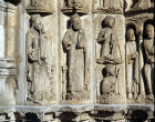 Chartres, Royal Portal, central bay, 2 of 4 elders of the apocalypse 12th century