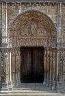 Royal Portal, central bay, twelfth century, Chartres Cathedral, France