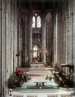 Choir and high altar, Bourges Cathedral, France