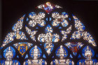 Tracery of the sixteenth century Tulliers window, Bourges Cathedral, France