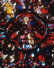 Apocalypse, Christ on throne of Judgement, thirteenth century, Bourges, France