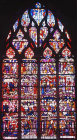 Passion window, fifteenth century, Church of La Madeleine, Troyes, France