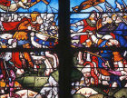 Victory of Constantine, sixteenth century, Church of la Madeleine, Troyes, France