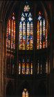 Choir window, by Valentin Bousch, sixteenth century, Metz Cathedral, France