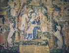 Virgin Mary tapestry,16th century, Reims cathedral, France