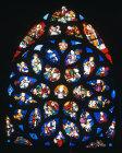 North rose, sixteenth century, St Germain l