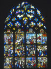 The Life of the Virgin, Notre Dame, Chalons-en-Champagne, formerly Chalons-sur-Marne, France, 16th century stained glass