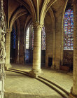 South east ambulatory, Chartres Cathedral, France