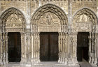 Chartres Cathedral, Royal Portal, three bays