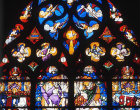 Coronation of the Virgin and symbols of the Evangelists, Church of Notre-Dame-en-Vaux, Chalons-en-Champagne, France