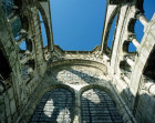 Chartres Cathedral flying buttresses of the south nave
