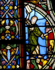 Moses and the tablets, twelfth century, St Denis, Paris, France