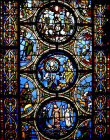 Scenes from the life of Moses, twelfth century, St Denis, Paris, France