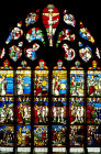 Creation window, sixteenth century, church of St Florentin, France