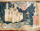 The heavenly Jerusalem, Angers Apocalypse tapestry, 1377-82, commissioned by Louis I duc d