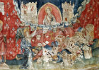 Babylon was not forgotten, Angers Apocalypse tapestry, 1377-82, commissioned by Louis I duc d