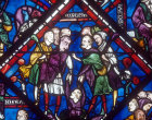 Story of Joseph, panel 6, window 61, thirteenth century, Chartres Cathedral, France