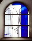 Window by Johannes Schreiter, twentieth century, Sacraments Chapel, Essen Munster, Germany