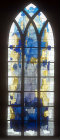 Nave window by Wilhelm Buschulte, twentieth century, Essen Munster, Germany