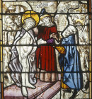 Germany, Mocking of Christ in purple robe, Chapel of Holy Sacrament, Cologne Cathedral