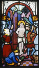 Germany, Ulm, the Flagellation by Hans Acker in the Besserer Chapel, Ulm Cathedral, 15th century