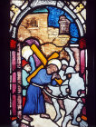 Christ carrying the Cross, fifteenth century, Hans Acker, Besserer Chapel, Ulm Cathedral, Germany