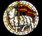 Lamb of God roundel, 1270-1280, from Bad Wimpfen, now in Laandes Museum, Darmstadt, Germany