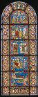 Story of St Kunibert, bishop of Cologne, thirteenth century, Church of St Kunibert, Cologne, Germany
