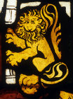 Lion, detail from throne of Solomon, fourteenth century, Munster Landesmuseum, Germany