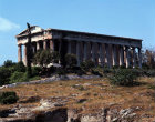 Greece Athens The Temple of Hephaistos or Theseion 5th century BC