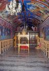 Chapel of St James, Limona Monastery, founded 1523 by St Ignatius, Lesbos, Greece
