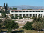 Greece Athens the Stoa of Attalus in the Athenian Agora