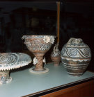 Minoan pottery, Heraklion Museum, Crete, Greece