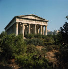 Greece Athens the Temple of Hephaistos Theseum 5th century BC