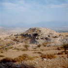Acropolis from east, Mycenae, Greece