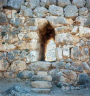South east postern, Mycenae, Greece
