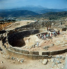 Royal Grave circle, dating from 1600 to 1500 BC, Mycenae, Greece