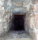 Stairway to secret cistern, Mycenae, Greece