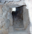 Secret cistern, exit, Mycenae, Greece