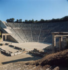 Greece Epidaurus the Theatre built by Polycleitos the Younger in the 4th century BC