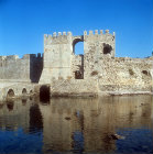 South gate of Venetian fortress, Methoni, Greece