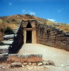 Treasury of Atreus, also known as the tomb of Agamemnon, thirteenth century BC, Mycenae, Greece