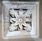 Greece Epidaurus section of the coffered ceiling of the Tholos 4th century BC built by Polycleitos the younger