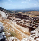 Royal Grave circle dating from 1600 to 1500 BC, Mycenae, Greece