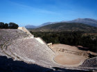 Epidaurus Greece the Theatre built by Polycleitos the younger in the 4th century BC
