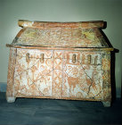 Terracotta Burial Chest, Heraklion Museum, Heraklion, Crete, Greece